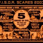P.I.S.O.R. Scares 2003 Cover