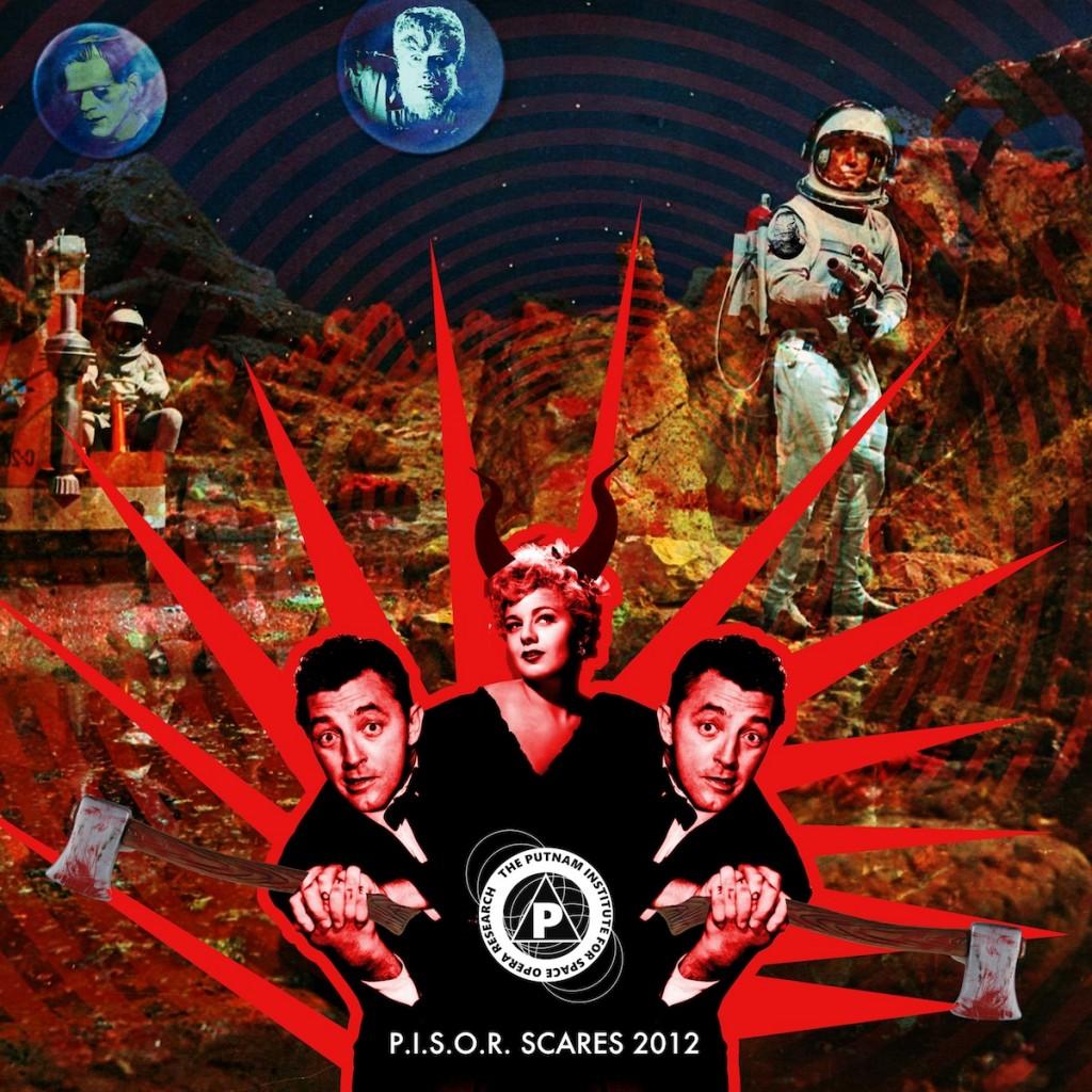 P.i.S.O.R. Scares Cover 2012