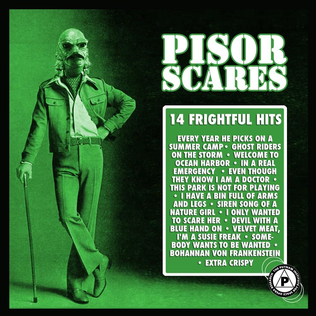 P.I.S.O.R. SCARES 2013- ALBUM ONE